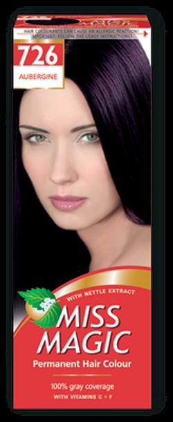 Краска для волос,SOLVEX Miss Magic, 90 мл., 726 - Баклажан