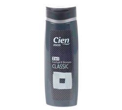 Șampon-gel de duș 2 în 1 Cien Classic pentru bărbați 300m