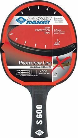 Ракетка для настольного тенниса Donic Protection Line S600 / 723056, 1.7 mm (3209)