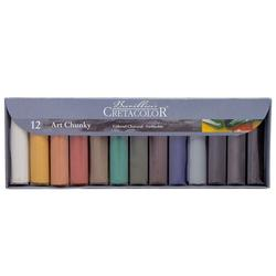 Набор цветного угля XXL 12 шт. Cretacolor