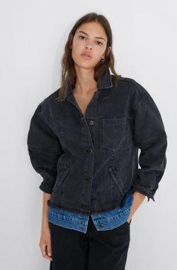 Куртка ZARA Чёрный zara 5899/155/800