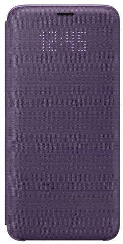 cumpără Husă telefon Samsung EF-NG960, Galaxy S9, LED View Cover, violet în Chișinău