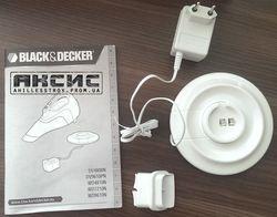 Портативный пылесос Black&Decker WD7210N-QW
