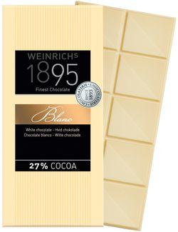 Ciocolată fină albă Weinrichs 1895 100g