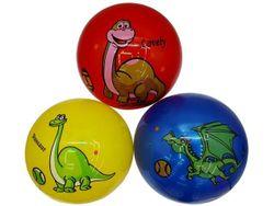 Мяч резиновый детский 25cm, с рисунком, разных цветов