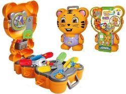 Набор игровой рюкзак-тигр Инженер 19X9X25cm