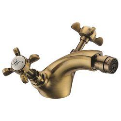CUTHNA antiqua смеситель для биде двухвентильный, бронза (ванная комната)