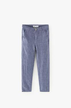 Pantaloni ZARA Albastru 5644/677/400