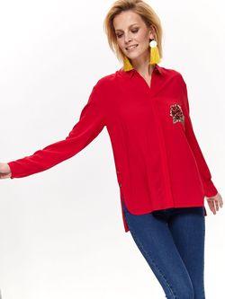 Блуза TOP SECRET Красный skl2855