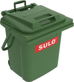 КОНТЕЙНЕР ПЛАСТИКОВЫЙ SULO ДЛЯ ОТХОДОВ MGB 45L, Зелёный