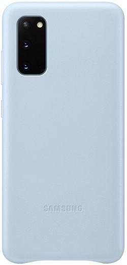 cumpără Husă pentru smartphone Samsung EF-VG980 Leather Cover Sky Blue în Chișinău
