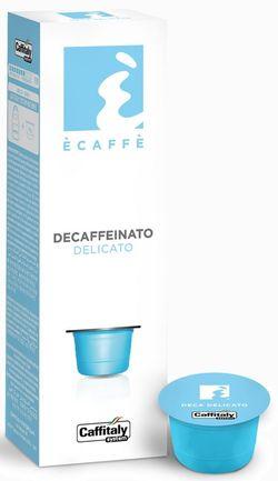 Капсулы для кофемашин Caffitaly System Decaffeinato Delicato