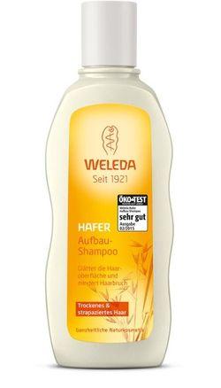 Шампунь для сухих и поврежденных волос с овсом Weleda 190 мл