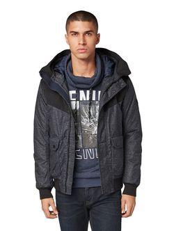 Куртка Tom Tailor Черно-серый в клетку tom tailor 1011869
