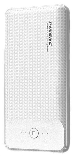 cumpără Acumulatoare externe USB Pineng PN-936 White, 10000 mAh în Chișinău