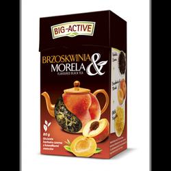 Чай черный Big Active with Peach & Apricot, 80 г
