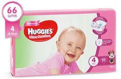 Подгузники Huggies Ultra Comfort 4 Girl (8-14 кг) 66 шт