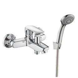 LOTUS смеситель для ванны однорычажный, хром 35 мм