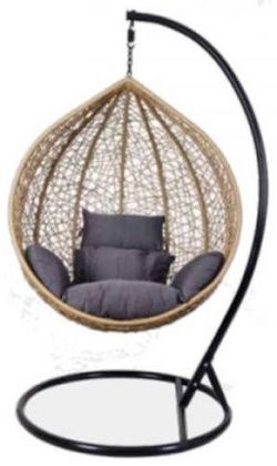 Подвесное кресло Gardenwell Kapelykka 67411 Black&Brown
