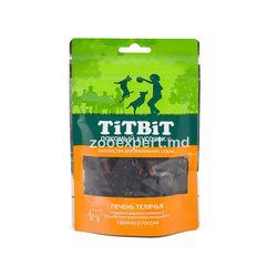 TiT BiT Ficat de vițel pentru câini mici 50 gr