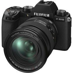 cumpără Aparat foto mirrorless FujiFilm X-S10 black/XF16-80mmF4 R OIS WR Kit în Chișinău