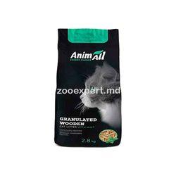 AnimAll древесный наполнитель с мятой 2.8 kg