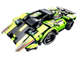 8020, XTech Bricks: 2in1, 2Racing Cars, R/C 4CH, 335 pcs