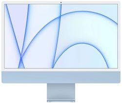 """cumpără Monobloc PC Apple iMac 24"""" 2021 Retina 4.5K M1 256GB 8GPU Blue MGPK3 în Chișinău"""