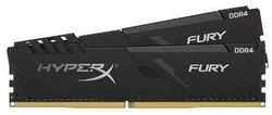 16 ГБ DDR4-3733 МГц Kingston HyperX FURY (комплект из 2x8 ГБ) (HX437C19FB3K2 / 16), CL19-23-23, 1,35 В, черный