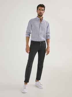 Pantaloni Massimo Dutti Gri inchis 0031/131/802