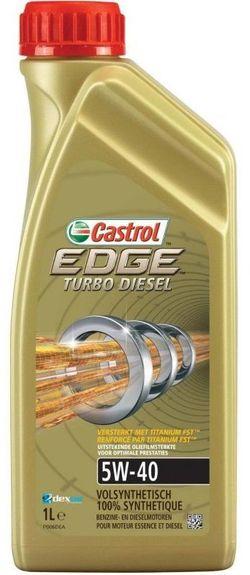 Моторное масло Castrol Edge Turbo Diesel 5W-40 1L