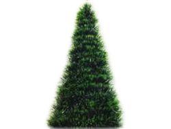 Brad de Craciun decorativ H50cm, verde