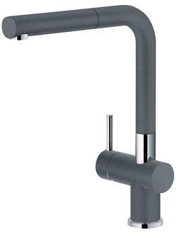 купить Смеситель кухонный Franke 115.0373.890 Active Plus Extractibil, grafite в Кишинёве