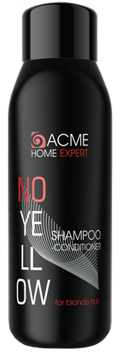 Șampon-conditioner pentru neutralizarea nuanței galbene, ACME Home Expert No-Yellow, 500 ml.