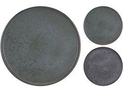 Farfurie de servire 27cm Granit, 2 culori, din ceramica