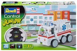 Jucărie teleghidată Revell Junior Ambulance (23013)
