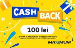cumpără Certificat - cadou Maximum CashBack 100 în Chișinău