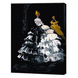 Siluetă, 40х50 cm, pictură pe numere Articol: GX5047