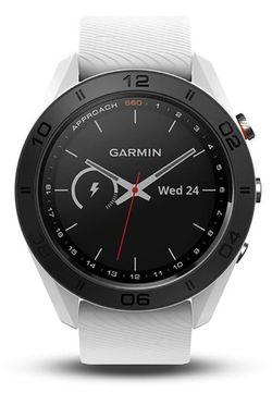 cumpără Ceas inteligent Garmin Approach S60 - White GPS golf watch with white silicone band în Chișinău