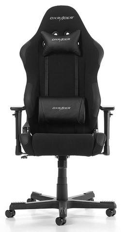 купить Gaming кресло DXRacer Racing GC-R0-N01-W1, Black/Black/Black в Кишинёве