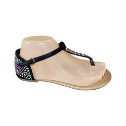 Sandale Dame (36-41) negru /12