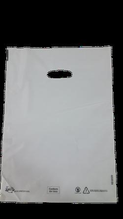Пакеты с вырубной ручкой 38*48cм