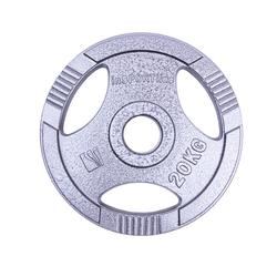 Диск метал. 20 кг d=50 мм 12706 (2737) inSPORTline (под заказ)