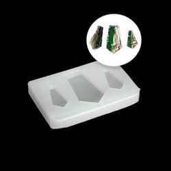 Пятиугольники ювелирные (30/43*5 мм), сборный силиконовый молд