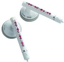 Наушники Elecom Gem Drops White/Pink (E11010)