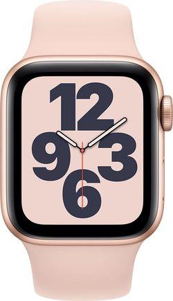 купить Смарт часы Apple Watch SE 40mm Gold/Pink Sand Sport Band (MYDN2) в Кишинёве