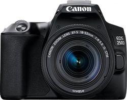 cumpără Aparat foto DSLR Canon EOS 250D 18-55 DC III Black (3454C009) în Chișinău