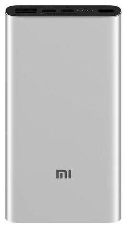 cumpără Acumulatoare externe USB Xiaomi 10000mAh Mi Power Bank 3 18W Silver în Chișinău