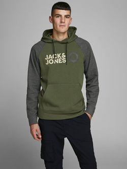 Pulover JACK&JONES Verde/Gri jack & jones 12171588