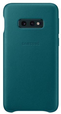 cumpără Husă telefon Samsung EF-VG970 Leather Cover Galaxy S10e Green în Chișinău